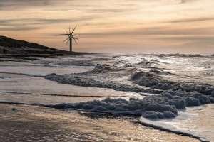 Herbert-RederWinterliche-AbendstimmungNordseeküste-in-Dänemark