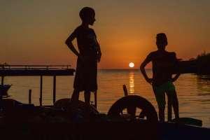 Manfred-SassSonnenuntergang-am-Strand-von-Trinidad