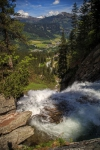 Stefan Durchholz - Blick von den Krimmler Wasserfällen