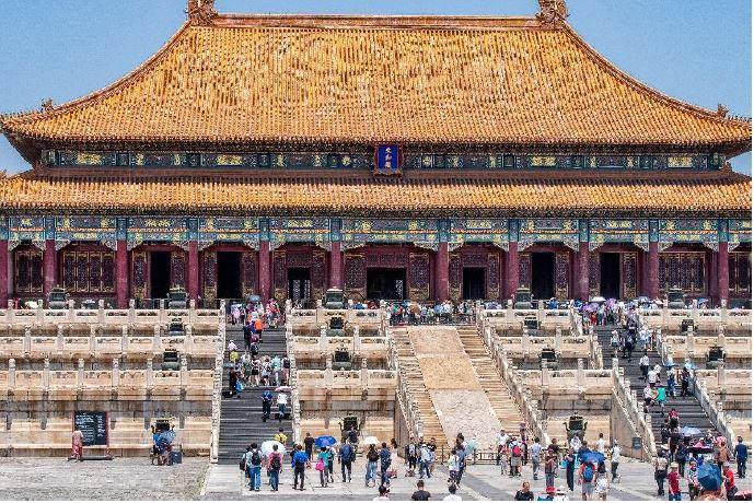 """VHS-Vortrag """"China – von Shanghai bis Peking"""" @ Alte Turnhalle"""
